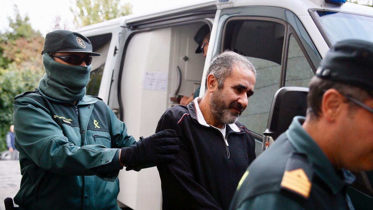 El líder de Las cinco jotas llega al juicio de los banqueros.Iñaki Urdangarin, en una imagen de archivo