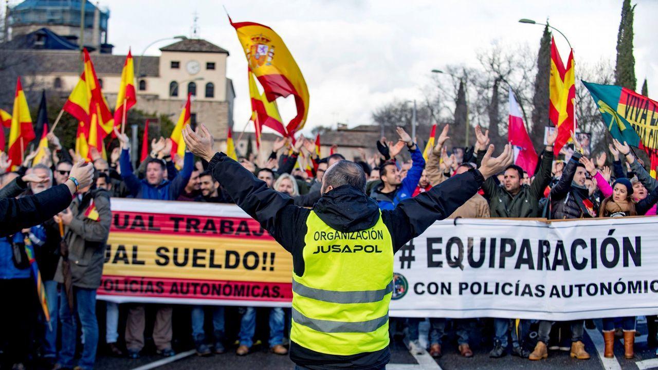 Los casos que mantienen en vilo a Asturias.Manifestacion en Toledo el 5 de marzo