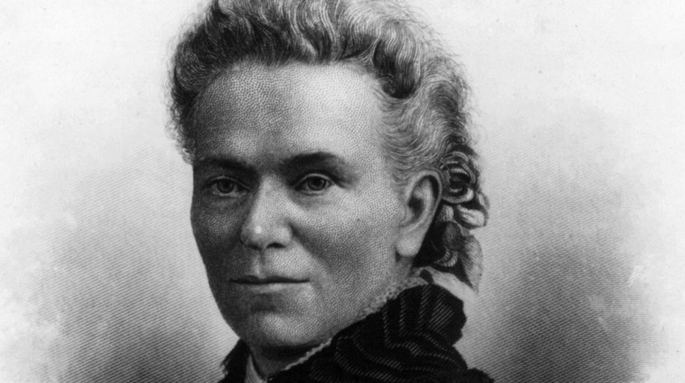 .Matilda Joslyn Gage describiu por primeira vez o silenciamento das mulleres científicas