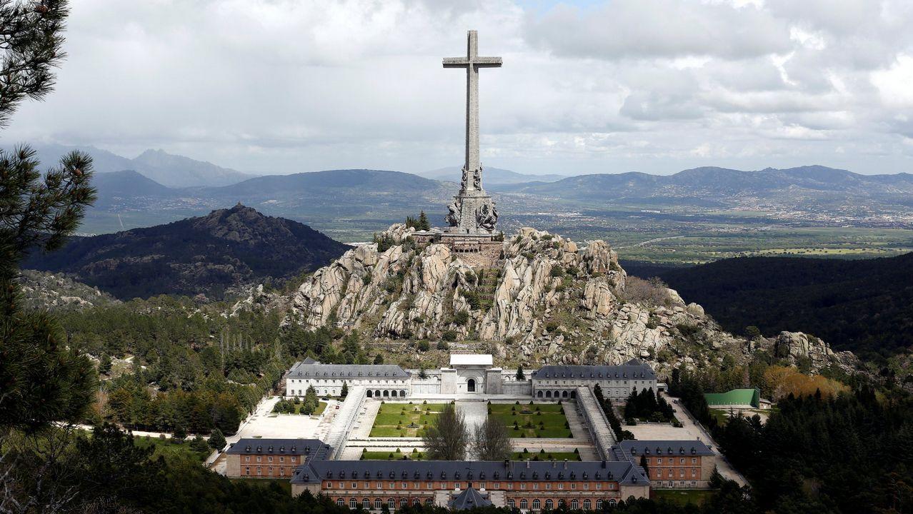 El Valle de los Caídos, donde está enterrado Franco