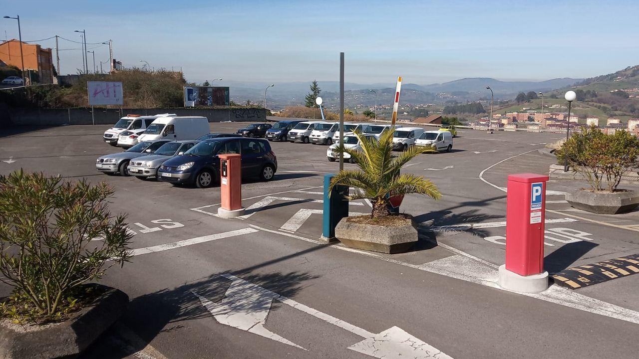 Parking de la Gruta, Oviedo