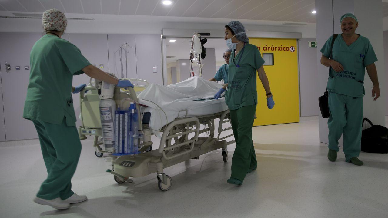 Presentación del plan de contingencia frente a la gripe en el Chuac