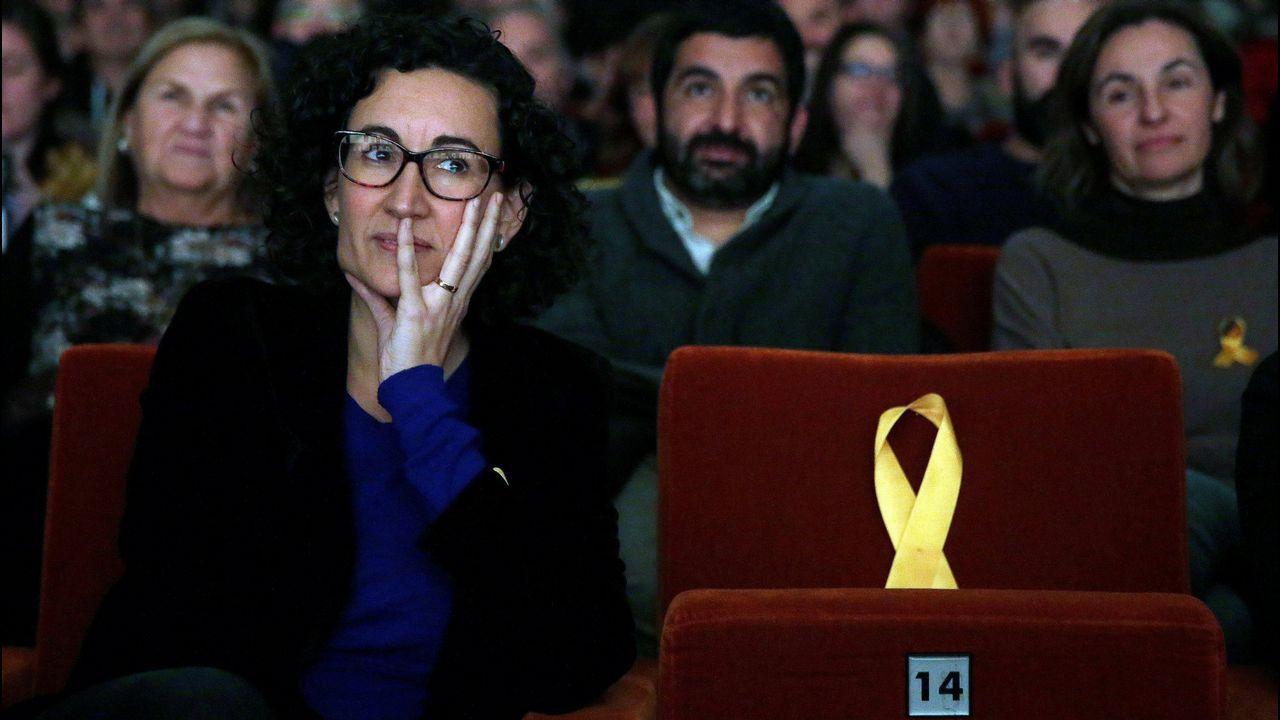 Gobernar tras el 21D, misión imposible.La líder de Ciudadanos, Inés Arrimadas, se dispone a dar la réplica al candidato Puigdemont.