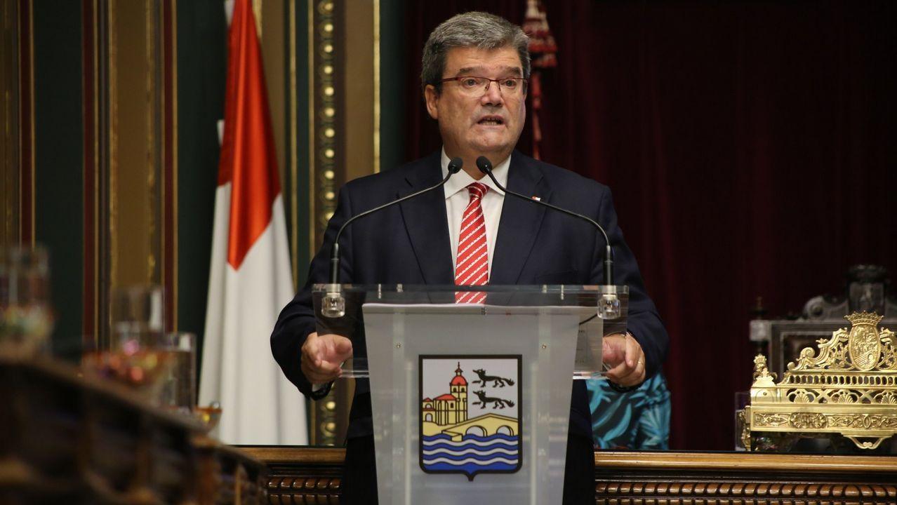 Y los vascos hicieron realidad la Ámsterdam española en Vitoria.El alcalde de Bilbao, Juan Mari Aburto