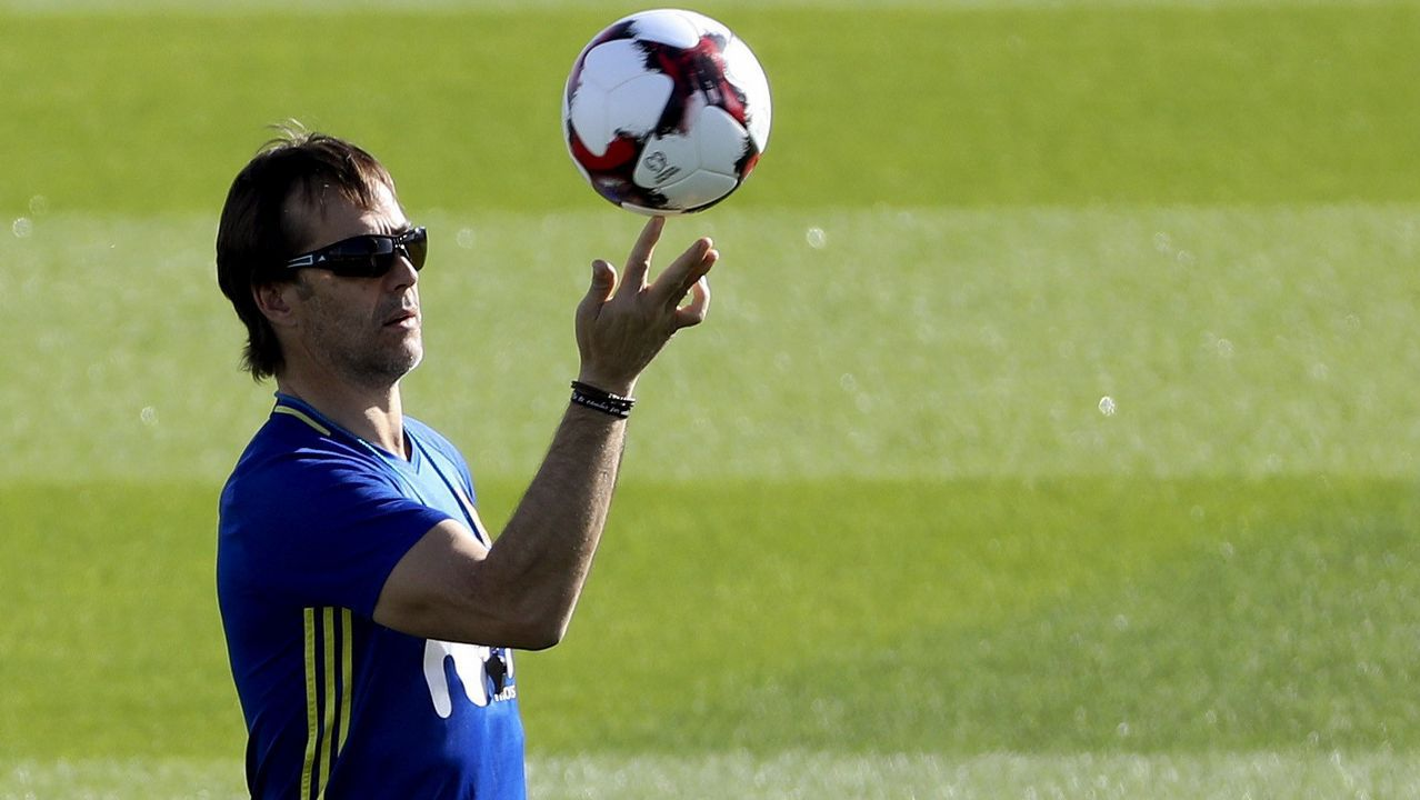 Julen Lopetegui: «El 6-1 a Argentina ya es pasado»