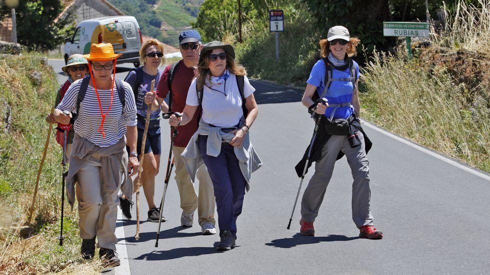 Las mejores imágenes de la ruta de Os Cófaros