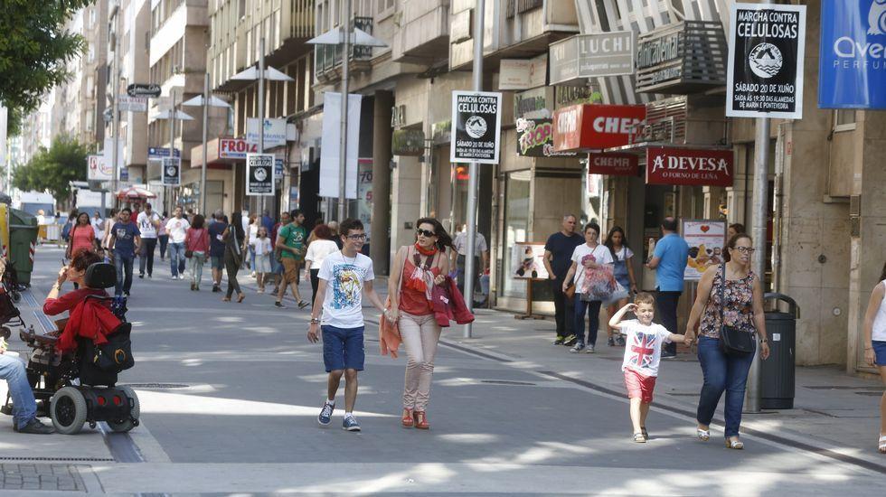 Benito Corbal y Peregrina, en Pontevedra. En la imagen, la primera, cuyo coste por metro cuadrado se sitúa en 600 euros.