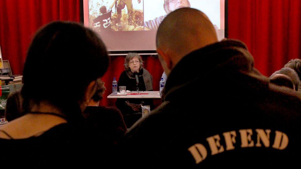 ¿Sabes qué país de Europa es más permisivo con el alcohol?.Liliana Córdova, en un momento de su charla en Gijón