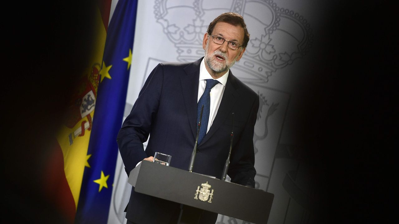 Rajoy: «No habrá referendo en Cataluña».