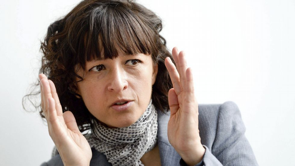 Nuria Espert, premio Princesa de Asturias de las Artes.Imagen de la feria apícola.