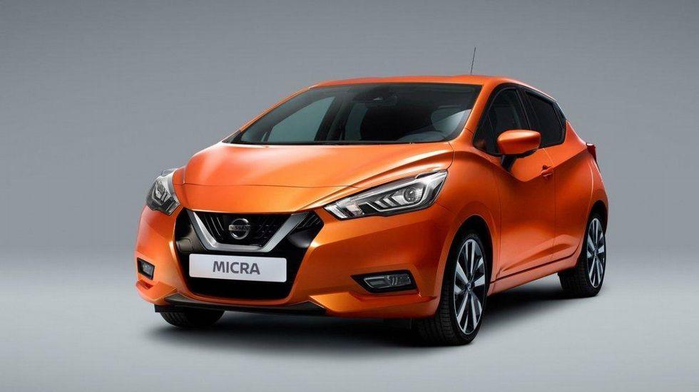 Nissan Micra 2017.Alumnos de primero de ESO de Maristas