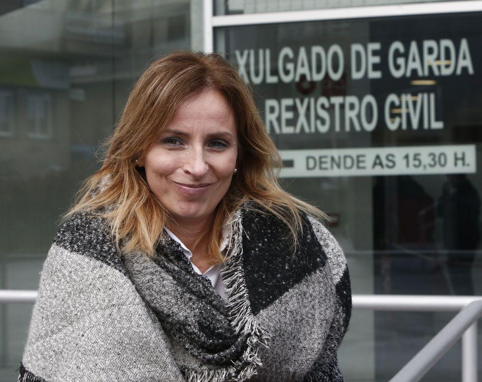 Taboada, secretaria de Acción Electoral del PSOE en Ourense.