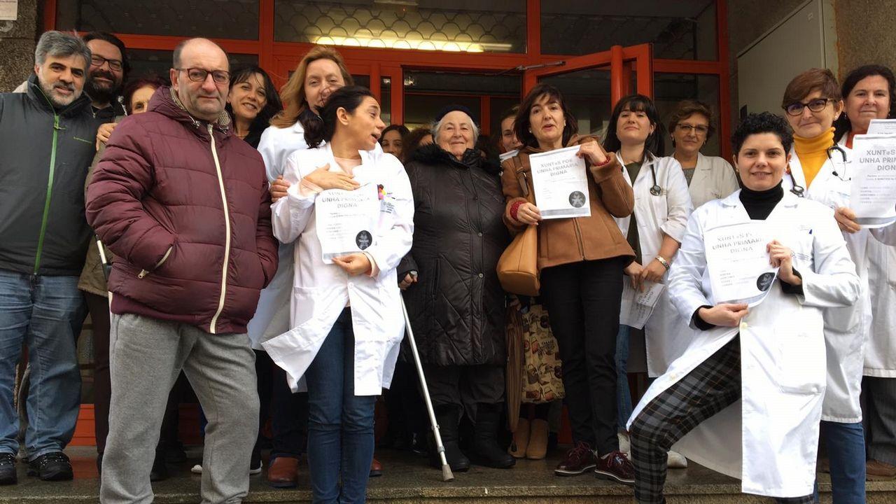 La ministra de Sanidad anuncia 105 plazas nuevas para médicos de familia en Galicia.CENTRO SALUD DE ADORMIDERAS