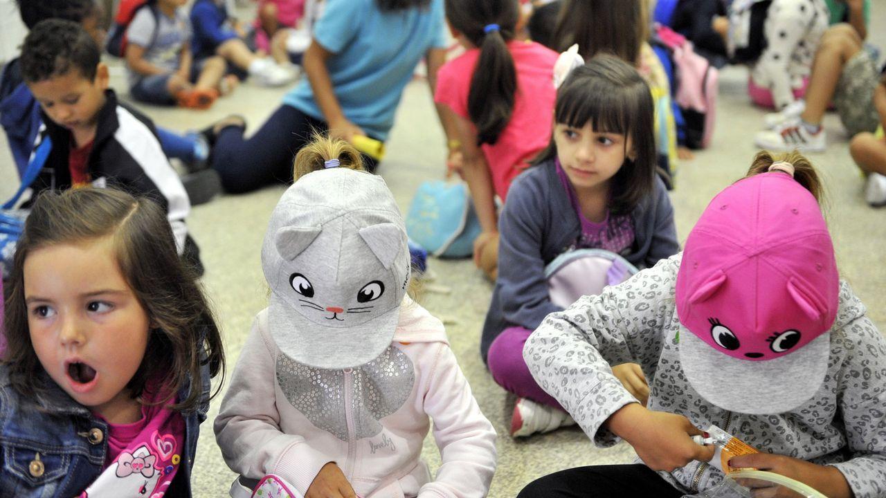 .En la imagen, una de las actividades llevadas a cabo en una pasada edición de los campamentos de verano del Concello
