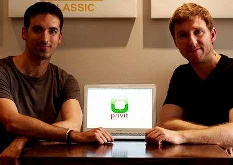 Anuncio de Messi para WeChat.Carlos Chaves y David Ryan, los impulsores de la aplicación «Privit»