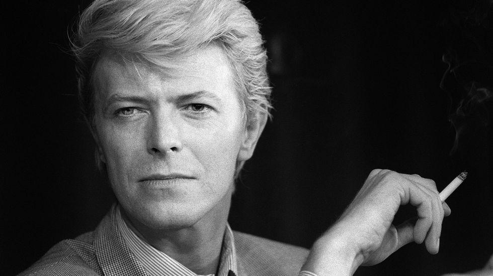 The Simpsons | Alan Rickman Tribute.David Bowie había cumplido 69 años el pasado viernes 8 de enero.