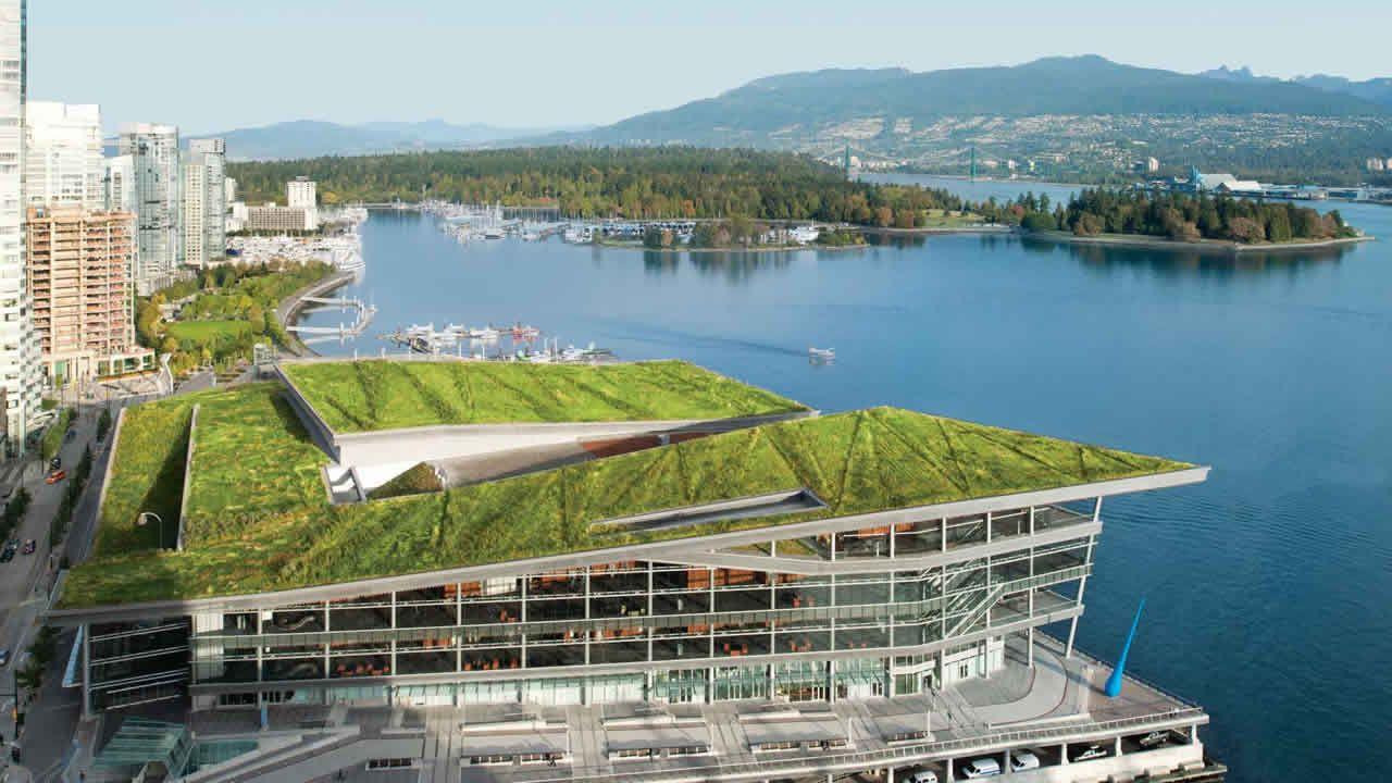 Centro de Convenciones de Vancouver, un ejemplo de arquitectura sostenible