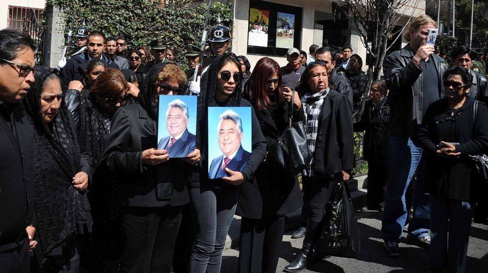 La Guardia Civil cierra el cerco sobre el coche en el que pudo subir Diana Quer.Funeral por el viceministro boliviano Rodolfo Illanes