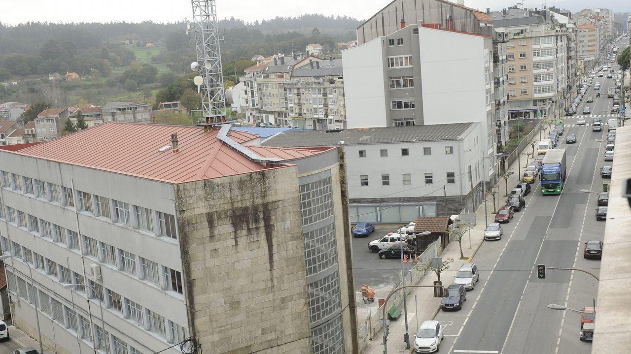 Dos cámaras de vigilancia