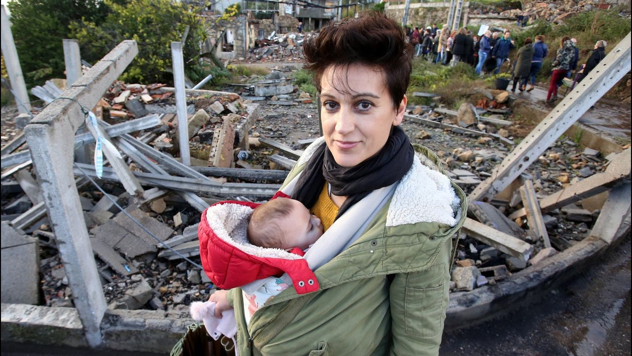 El día de la explosión, la onda expansiva lanzó del sofá a Ana, en la recta final de un embarazo de alto riesgo