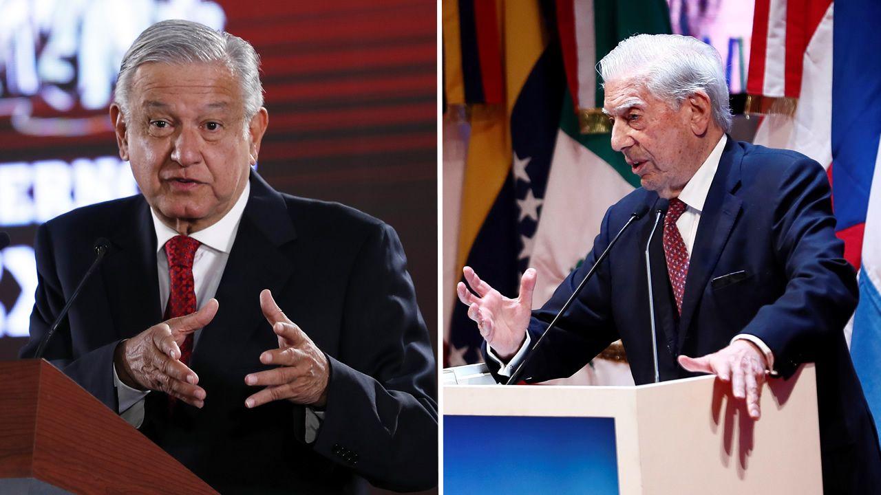 El presidente de México insiste en que el Rey pida perdón por la conquista de América.Vargas Llosa, en la librería Arenas.