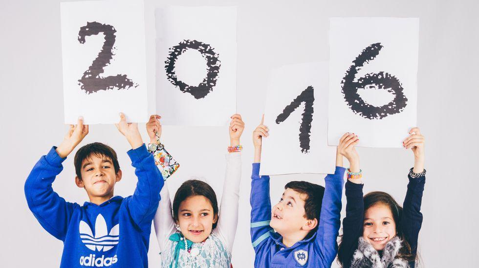Calendarios solidarios para el 2016.La gala benéfica de Down-Xuntos cumple diecinueve años de vida