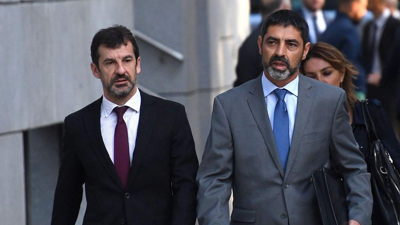 Trapero asume su destitución y pide «lealtad» a su sucesor.