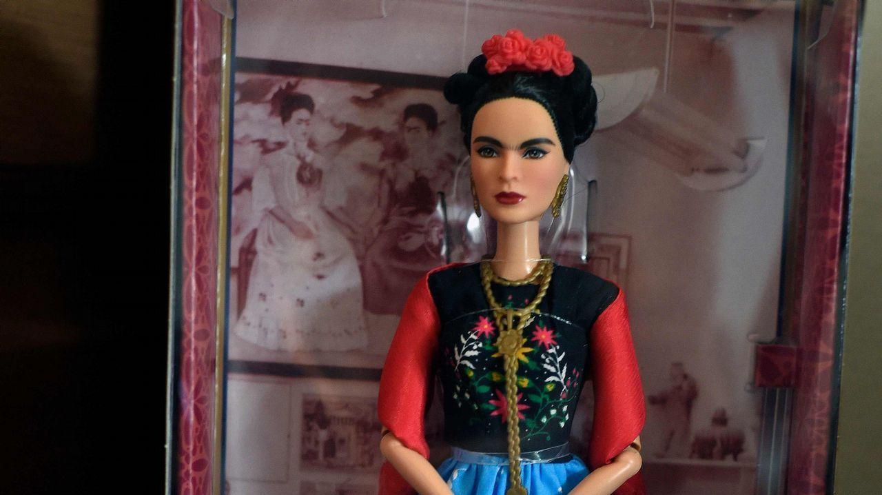 Así es Frida Kahlo vista por Barbie.