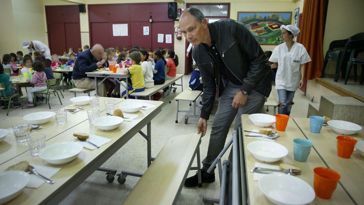 Conciliaci n inmigraci n y becas llevan los comedores - Comedores escolares xunta ...