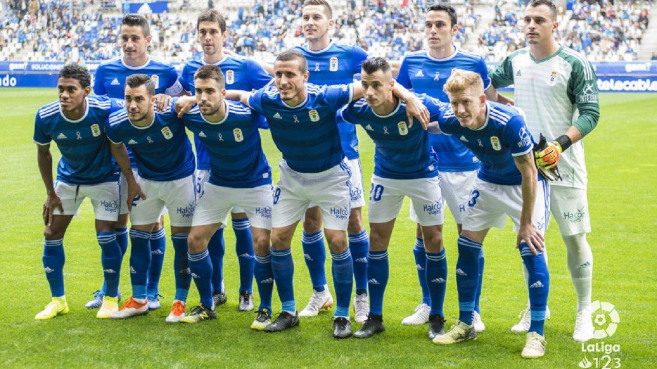 Rozada Vetusta Bilbao Athletic.Alineación del Oviedo ante Osasuna