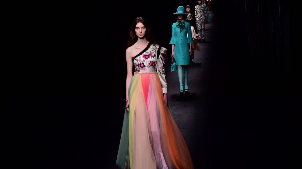 Gucci y Roberto Cavalli, en la semana de la moda de Milán