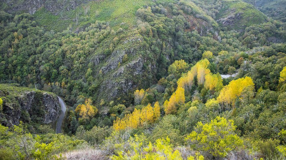 El camino discurre entre espectaculares paisajes