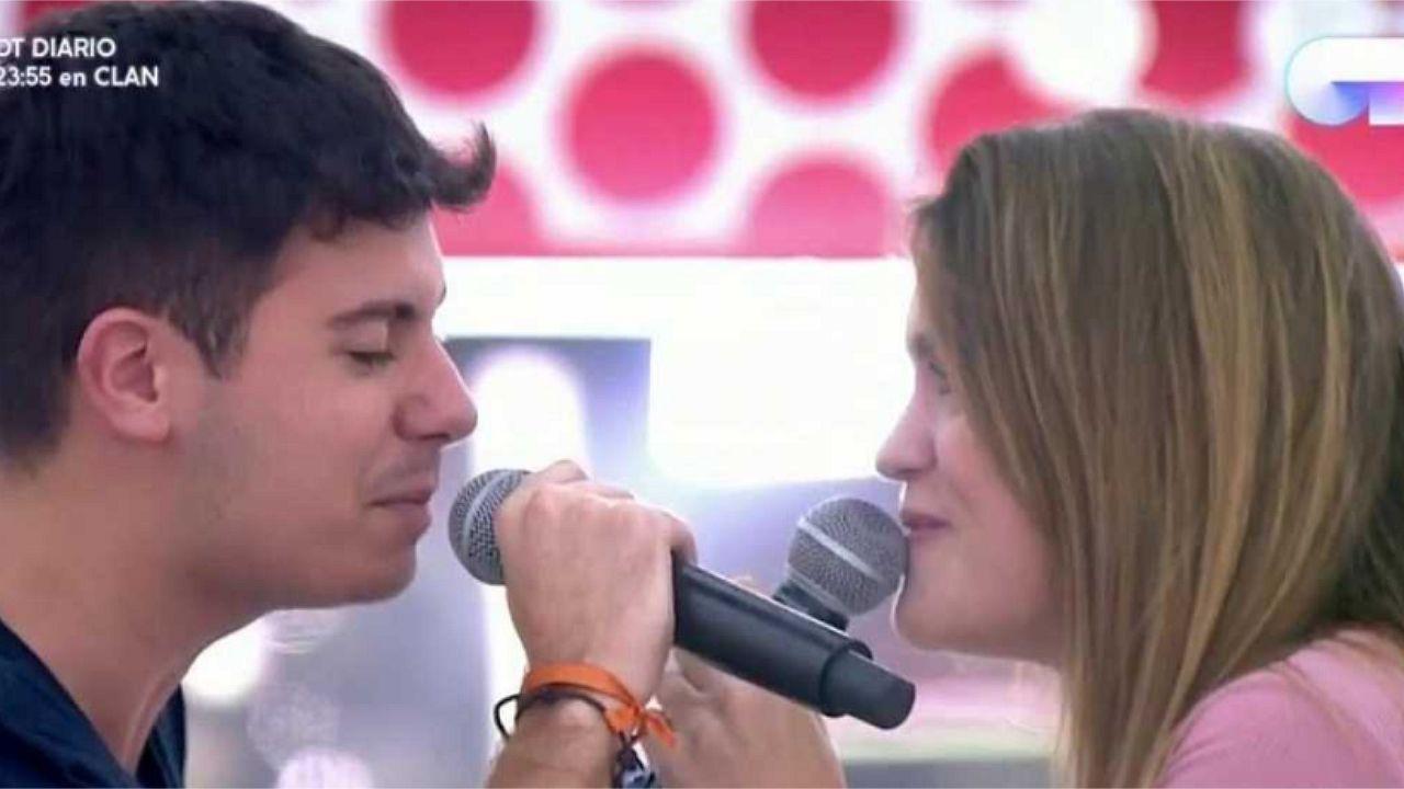 Amaia y Alfred cantan «Tu canción»