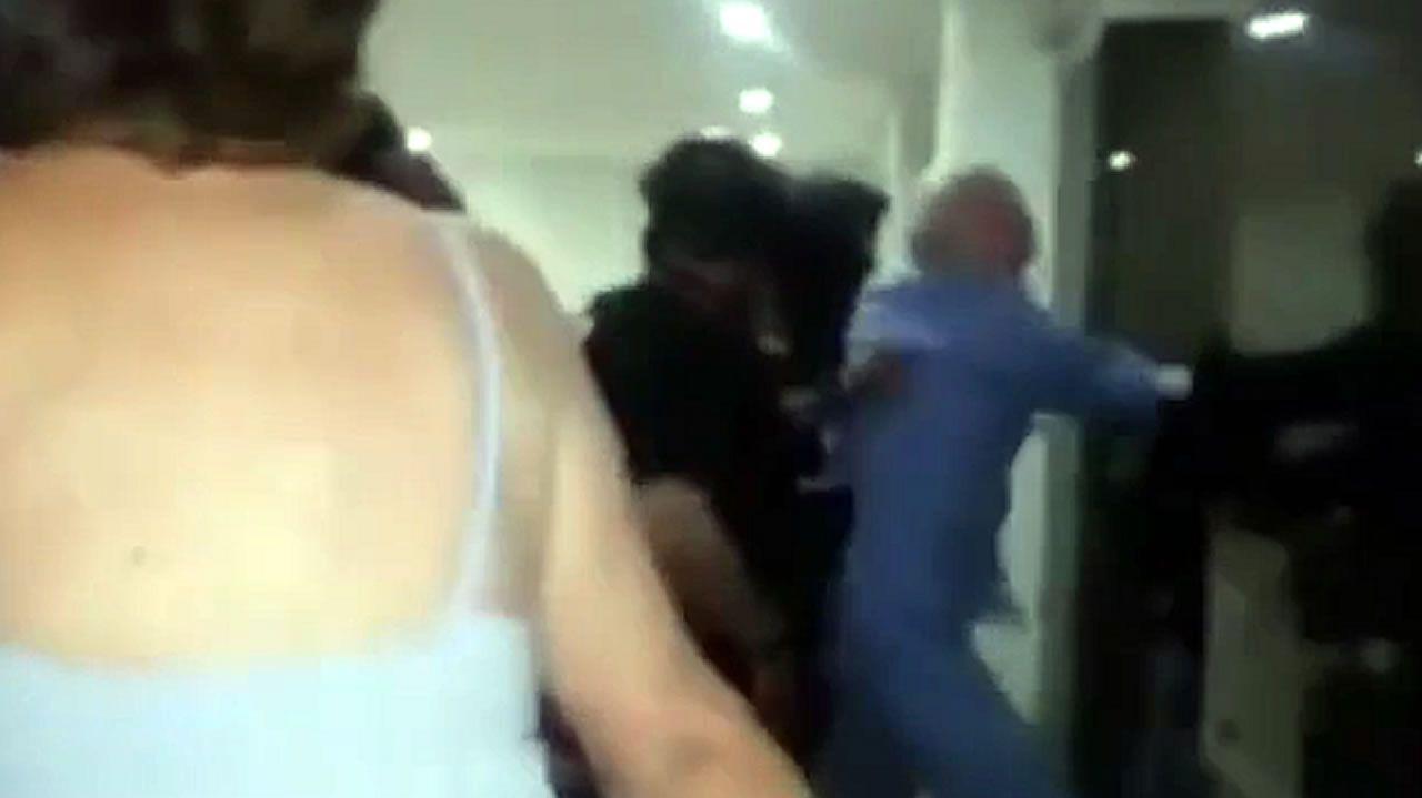 Las imágenes de la detención de Leopoldo López y Ledezma en Venezuela