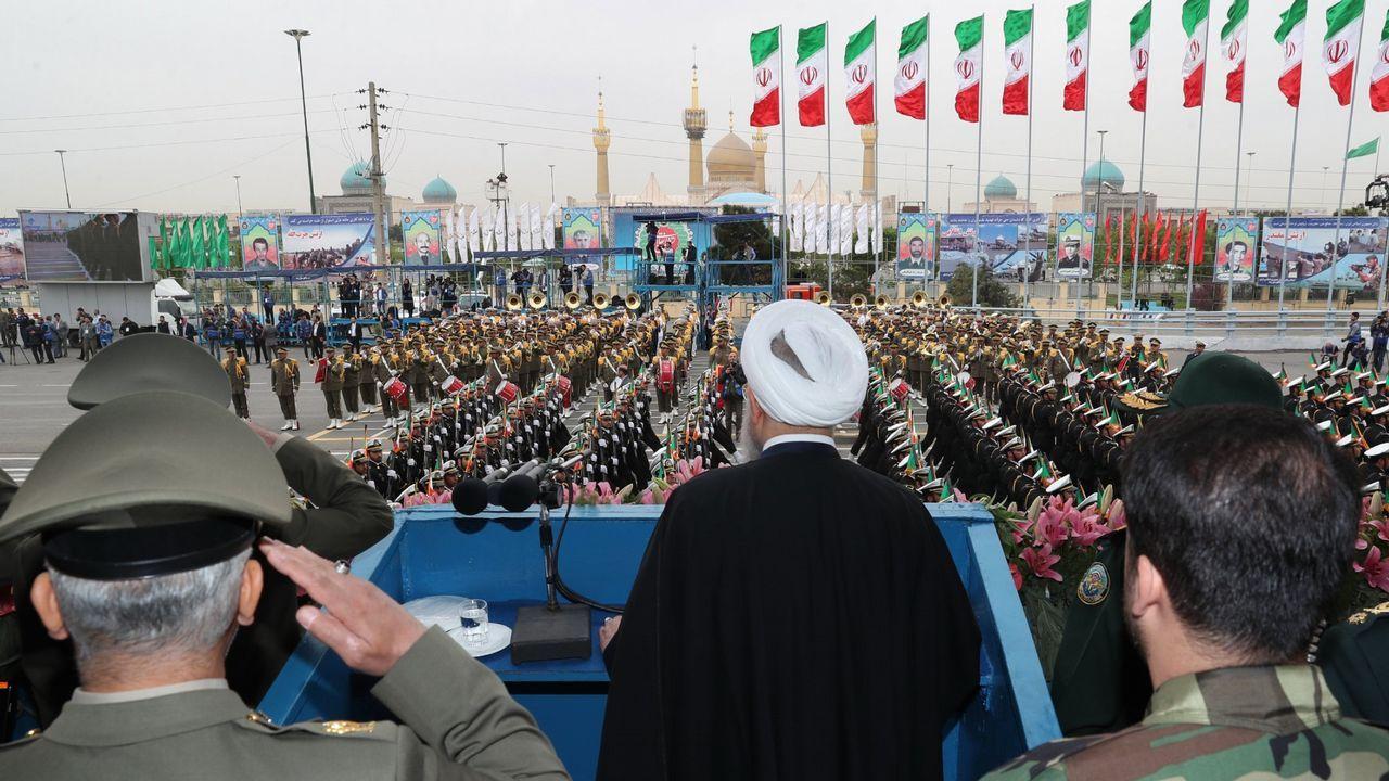 Entrevista a Carmen Moriyón, candidata de Foro a la presidencia del Principado.El presidente iraní, Hassan Rouhani, durante su discurso con motivo del Día Nacional del Ejército, el pasado 18 de abril