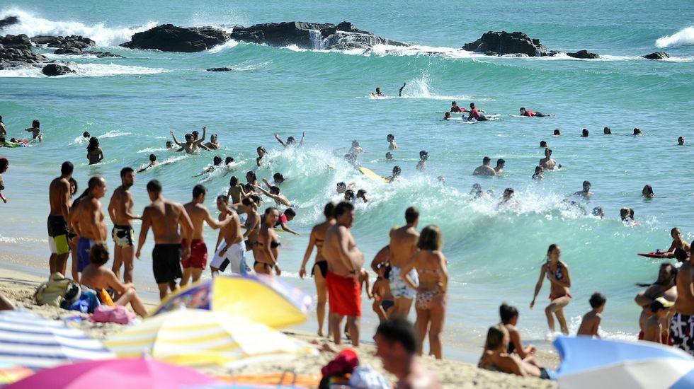 Ferrol. Playa de A Fragata