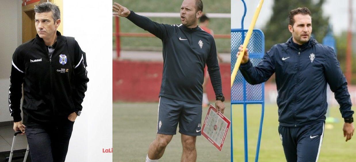 Martí, José Alberto y Baraja, opciones para el banquillo del Sporting