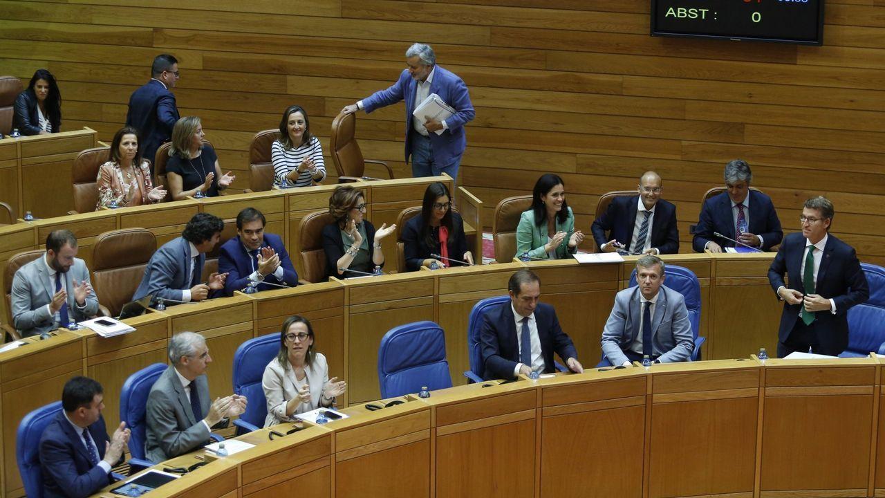 Aumenta el seguimiento en la segunda jornada de huelga.El pleno de Os Blancos aprobó transferir los servicios a la Diputación el pasado 20 de diciembre