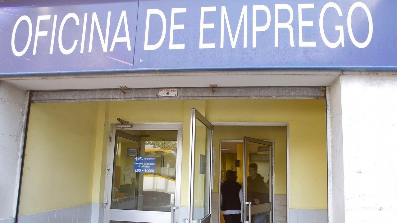 .Oficina de empleo en Ferrol