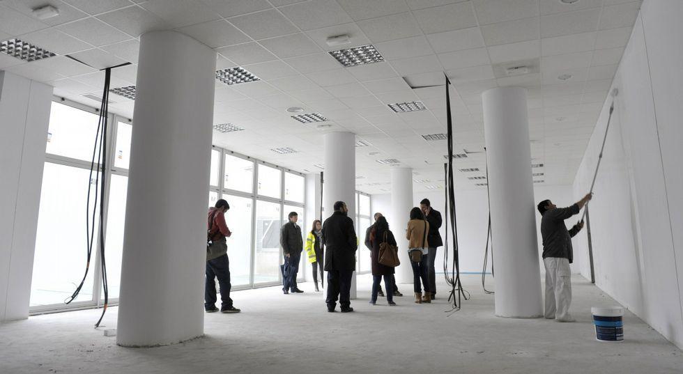 La Casa do Maior se habilitará en la primera planta del edificio del Novo Mercado.