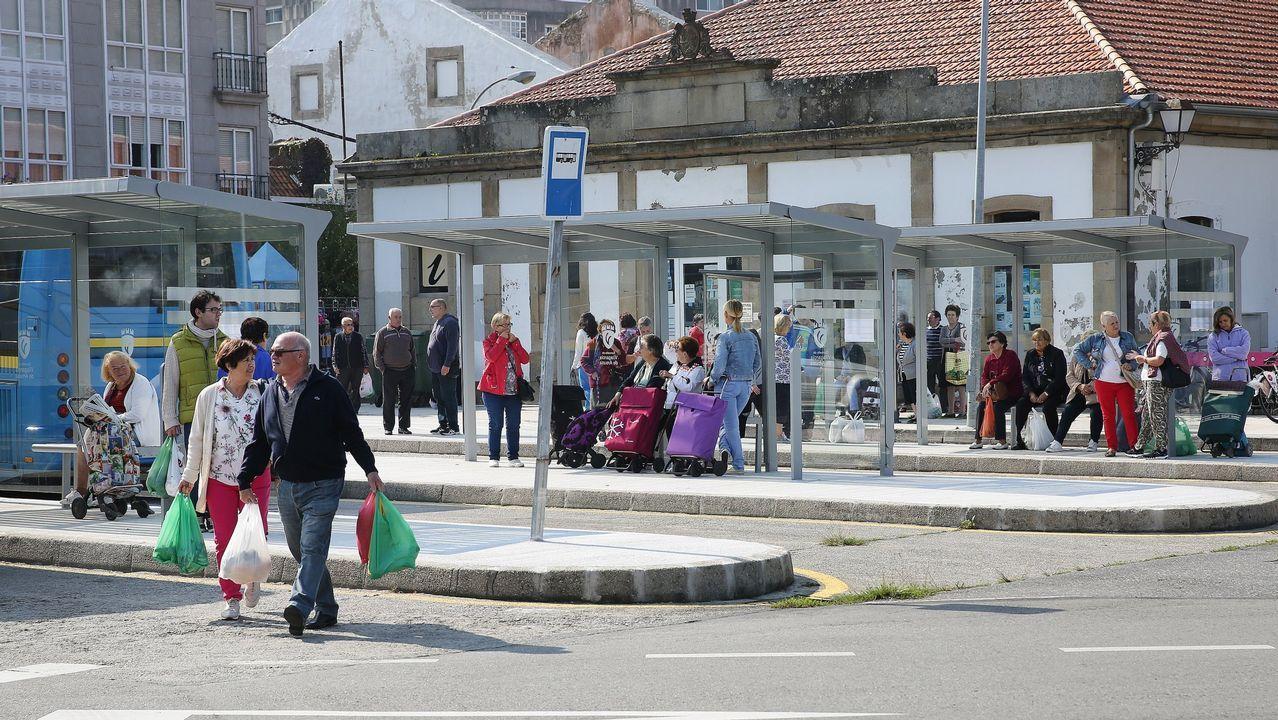 Ramiro Carregal xa ten a súa praza en Vilagarcía