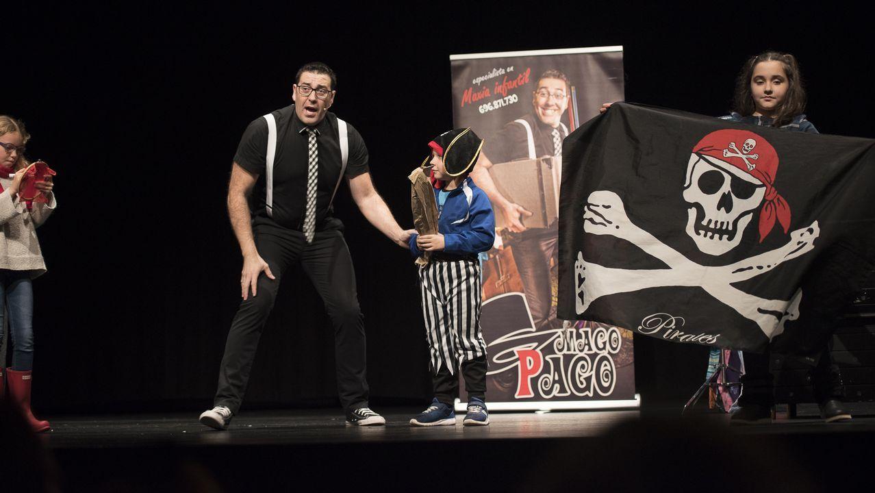 El Mago Paco actúa en Lugo