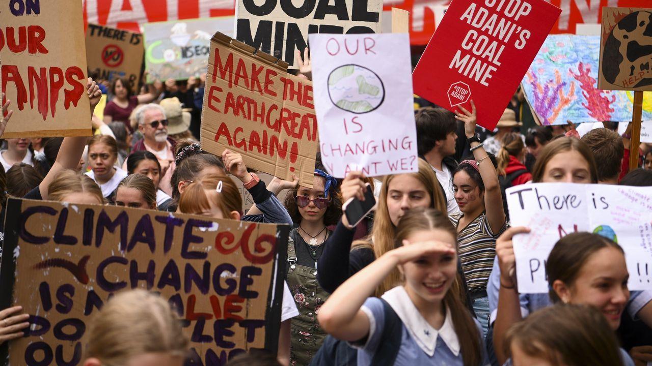 Protestas en Australia.Sudáfrica
