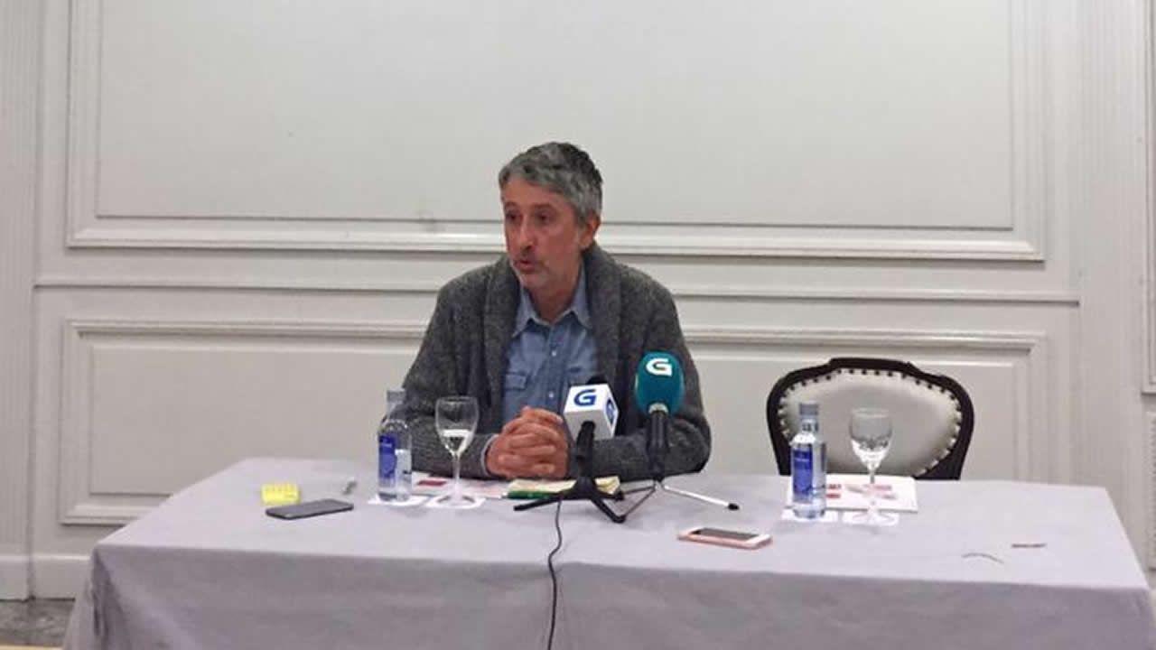 Gonzalo Rodríguez, responsable del censo de En Marea