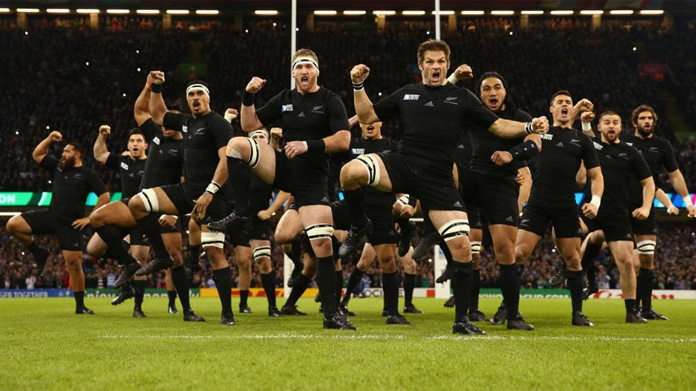 El «Haka» de los All Blacks