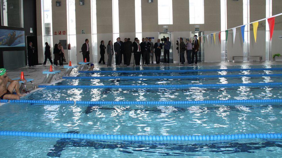La piscina climatizada abrió en 2010