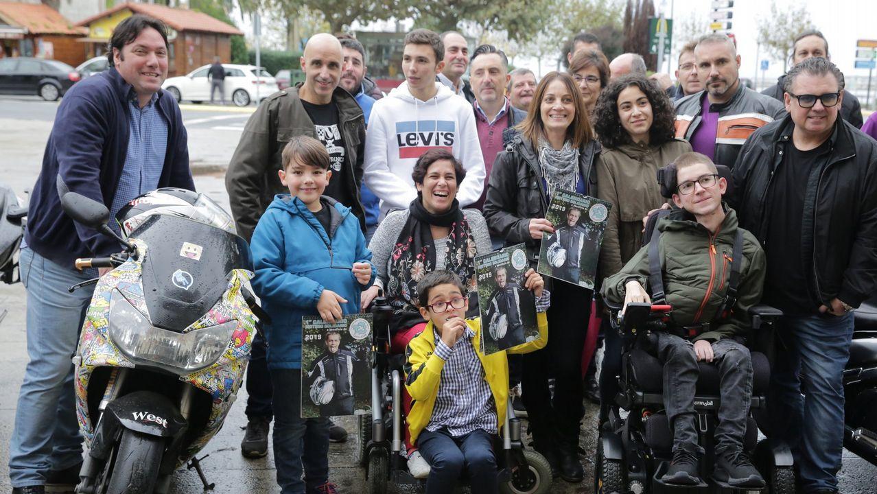 La subdelegada del gobierno Maica Larriba sufre un percance en una visita a la N-640