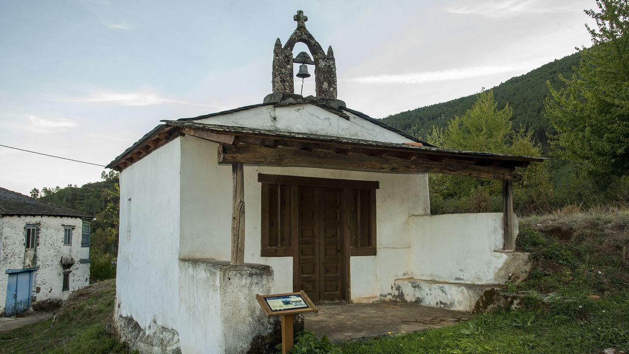 Capilla de Santa Bárbara, en Piñeira de Arriba