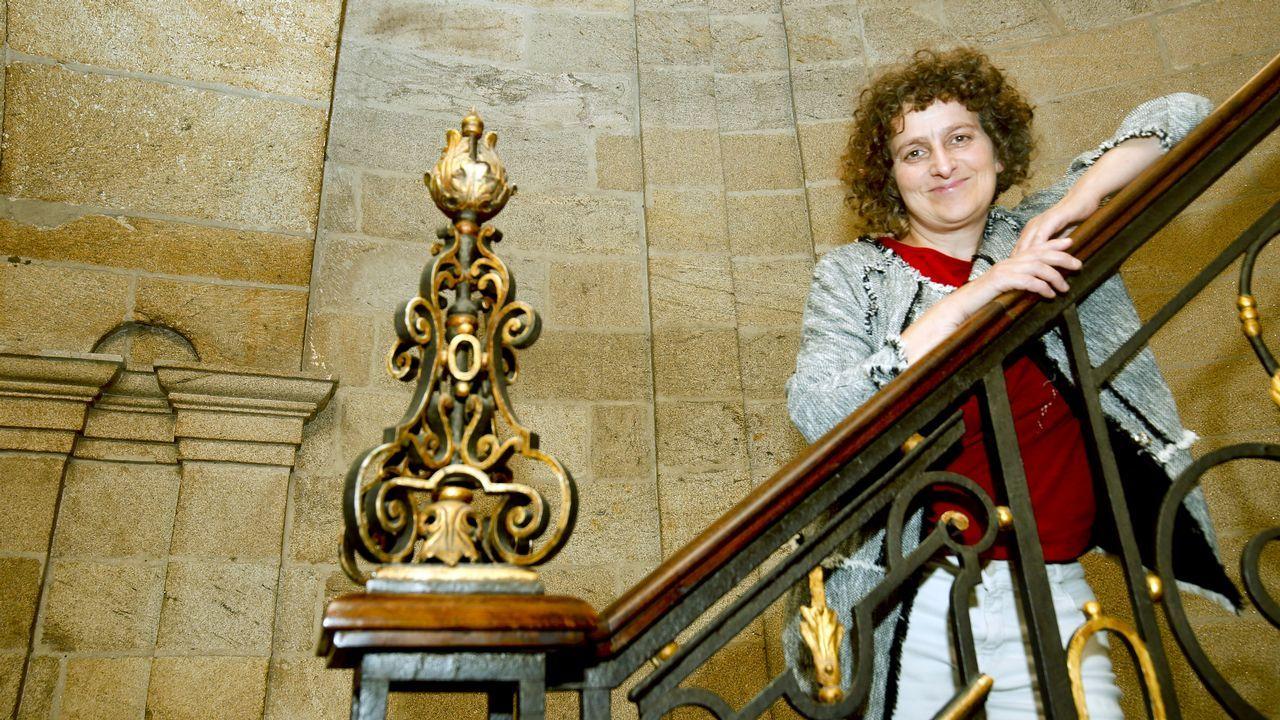 Goretti Sanmartín: «Hai que apostar por unha capital de referencia, pioneira e vangardista»