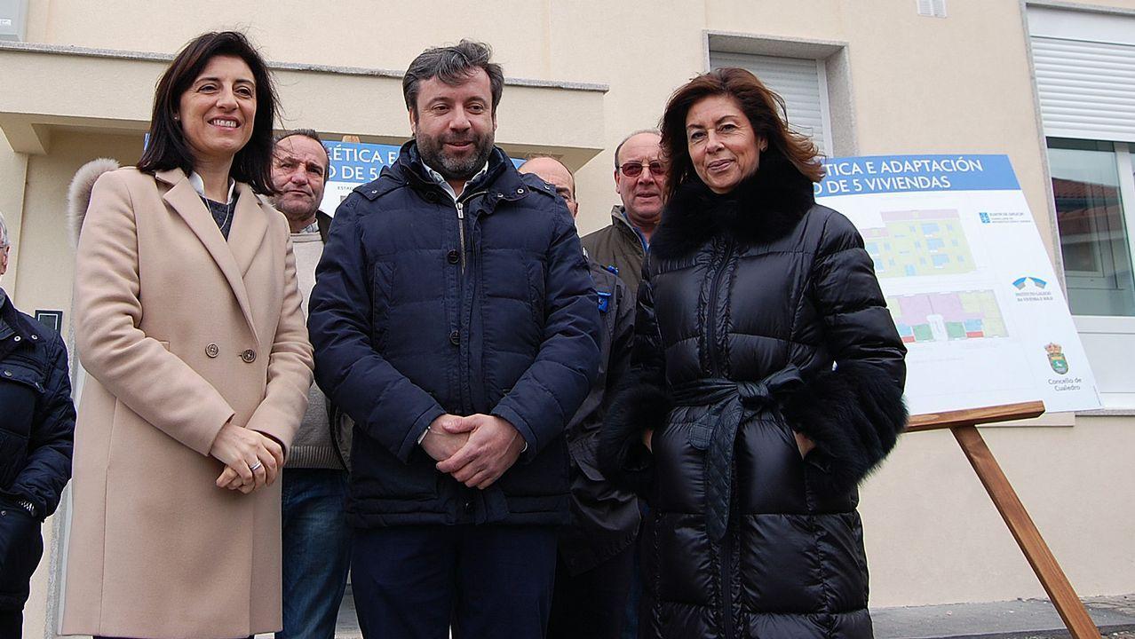 Cristina de Francisco sucedió en la alcaldía de Melón a su marido, Alberto Pardellas